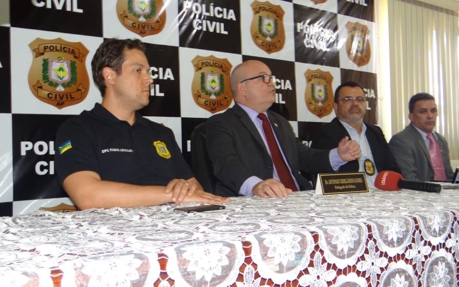 """NOTÍCIAS JURÍDICAS – OPERAÇÃO """"ANJOS DA LEI"""" – Polícia Civil do Amapá, em 13.11.2018."""
