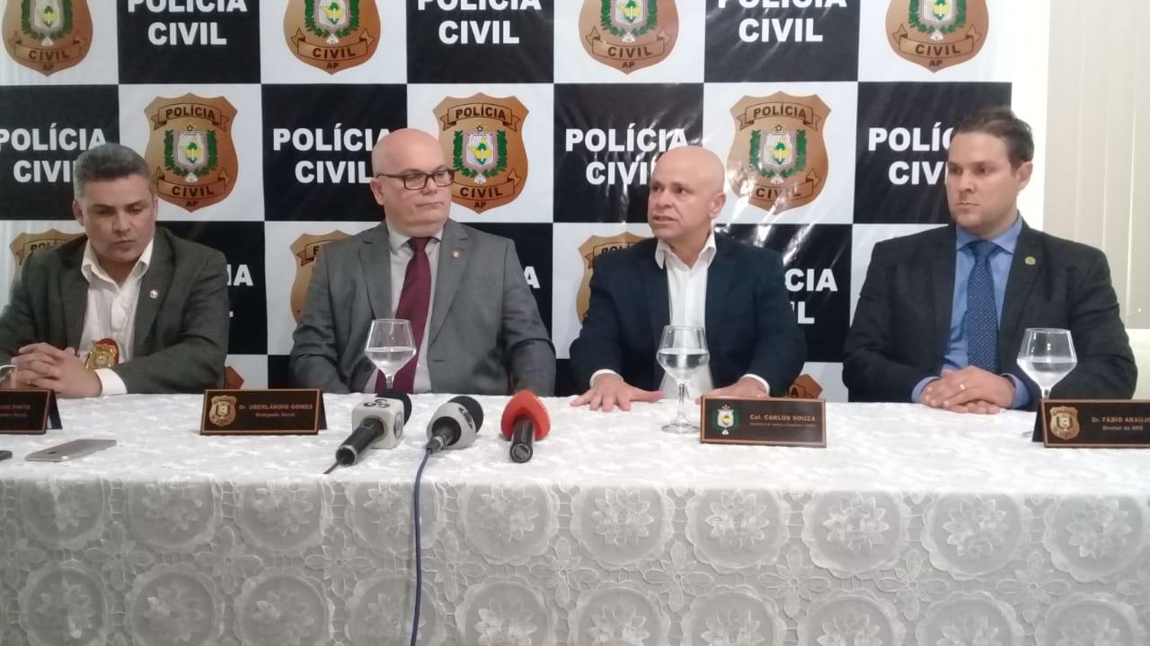 """NOTÍCIAS JURÍDICAS – OPERAÇÃO """"BIFRONT"""", da Polícia Civil do Amapá, em 03/12/2018."""